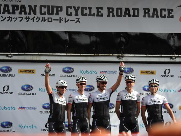 1年前 宇都宮JAPANCUP トレックチーム