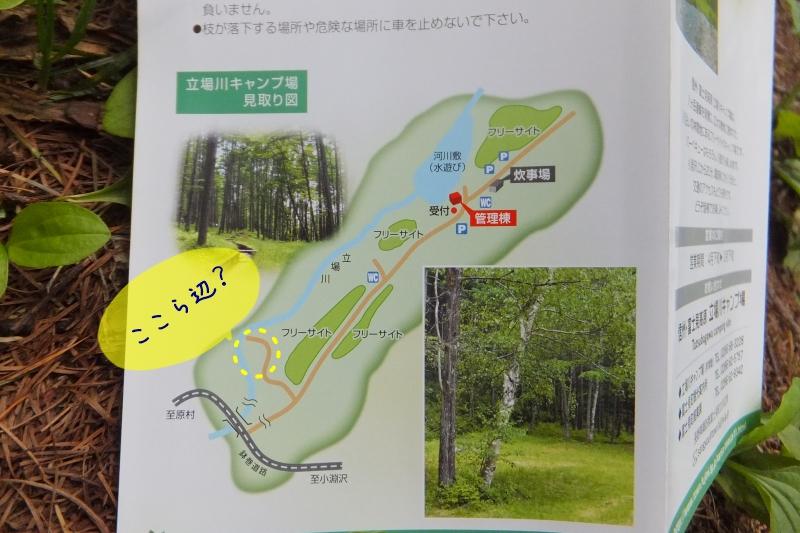 立場川キャンプ場 コンデジ 030