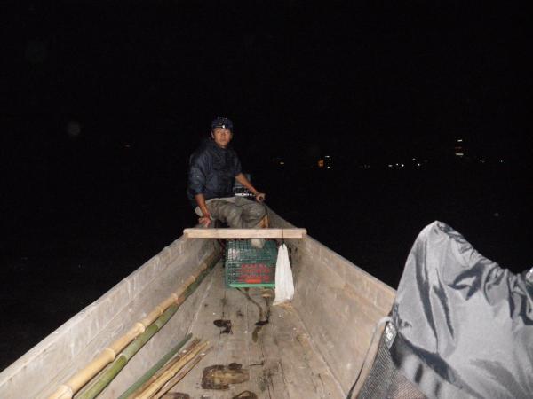深夜の操船