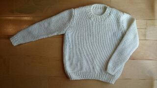 2分の1セーター