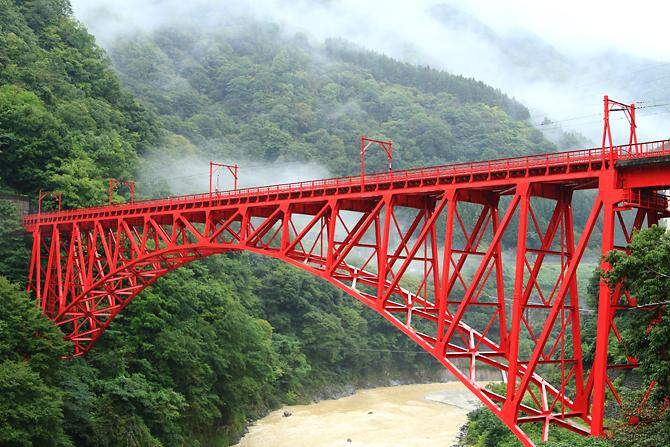 20160919黒部峡谷の橋