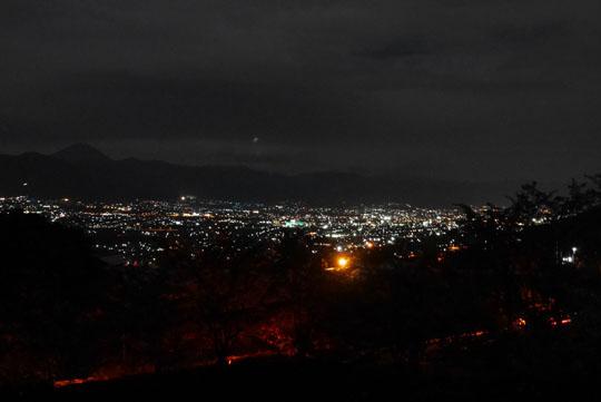 125宿泊地からの夜景