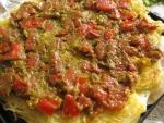 素麺でピザ08