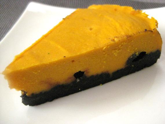 パンプキンチーズケーキ15