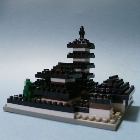 3502法隆寺伽藍2