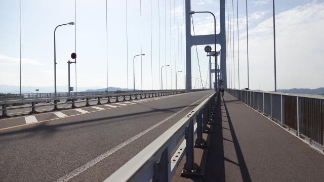 4kmもの橋のゥえ
