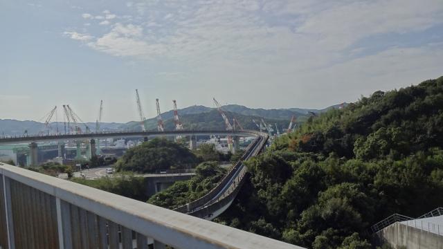 今治側ループ橋