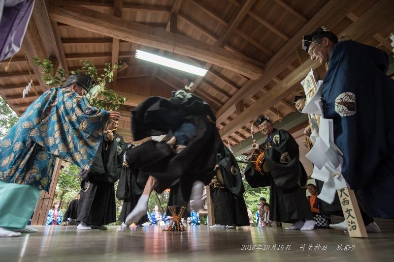 20161015丹生神社 秋祭り ヨコトビ