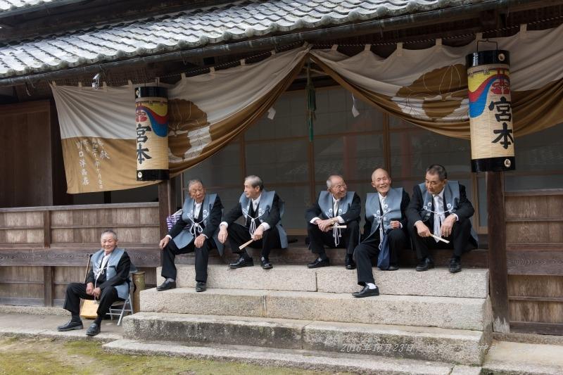 20161023 桃香野八幡神社 秋祭り (2)