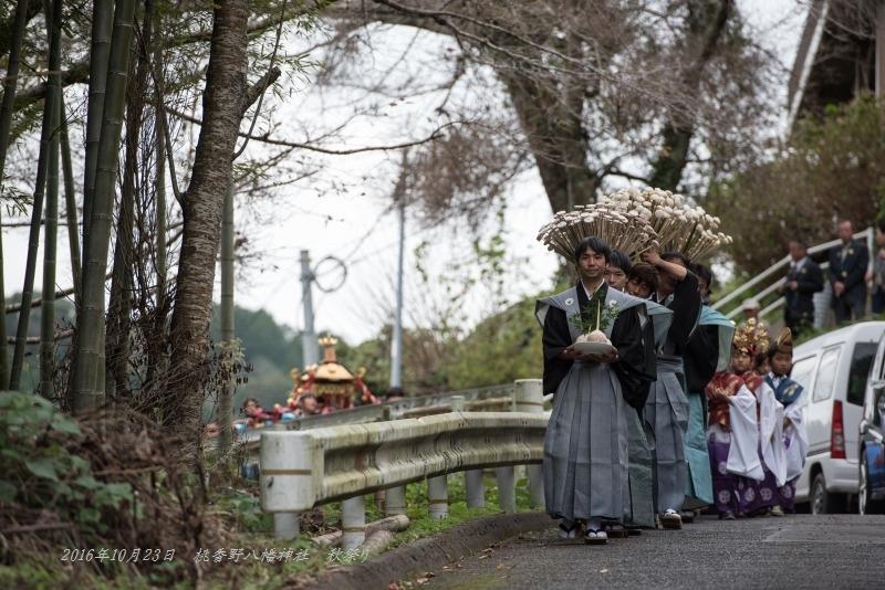 20161023 桃香野八幡神社 秋祭り (4)