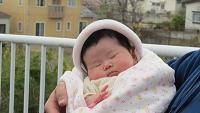 yuichan first Osanpo!