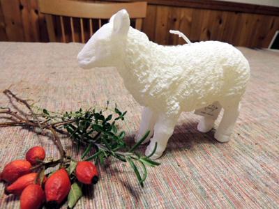 ろうそくの羊DSCN1129