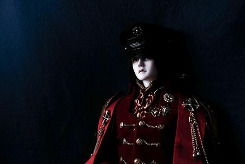 「帝都物語」の加藤保憲としてお迎えした、Ring Doll、Dracula Style-B