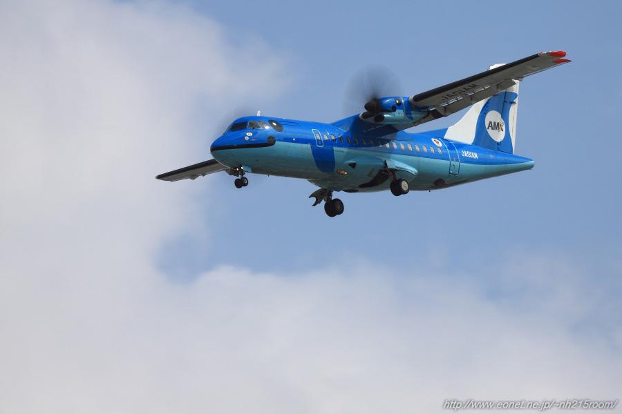 AMX ATR-42-600 / JA01AM@豊中樹木見本園