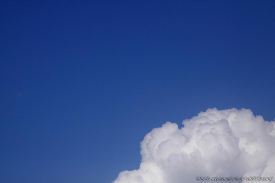 RWY14Lエンド付近からの北側の空@RWY14Lエンド・エアフロントオアシス下河原沿道