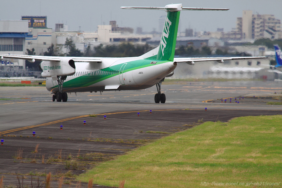 ANA WINGS DHC-8-402Q / JA857A@エアフロントオアシス下河原沿道