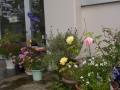 村松ST 玄関前のお花