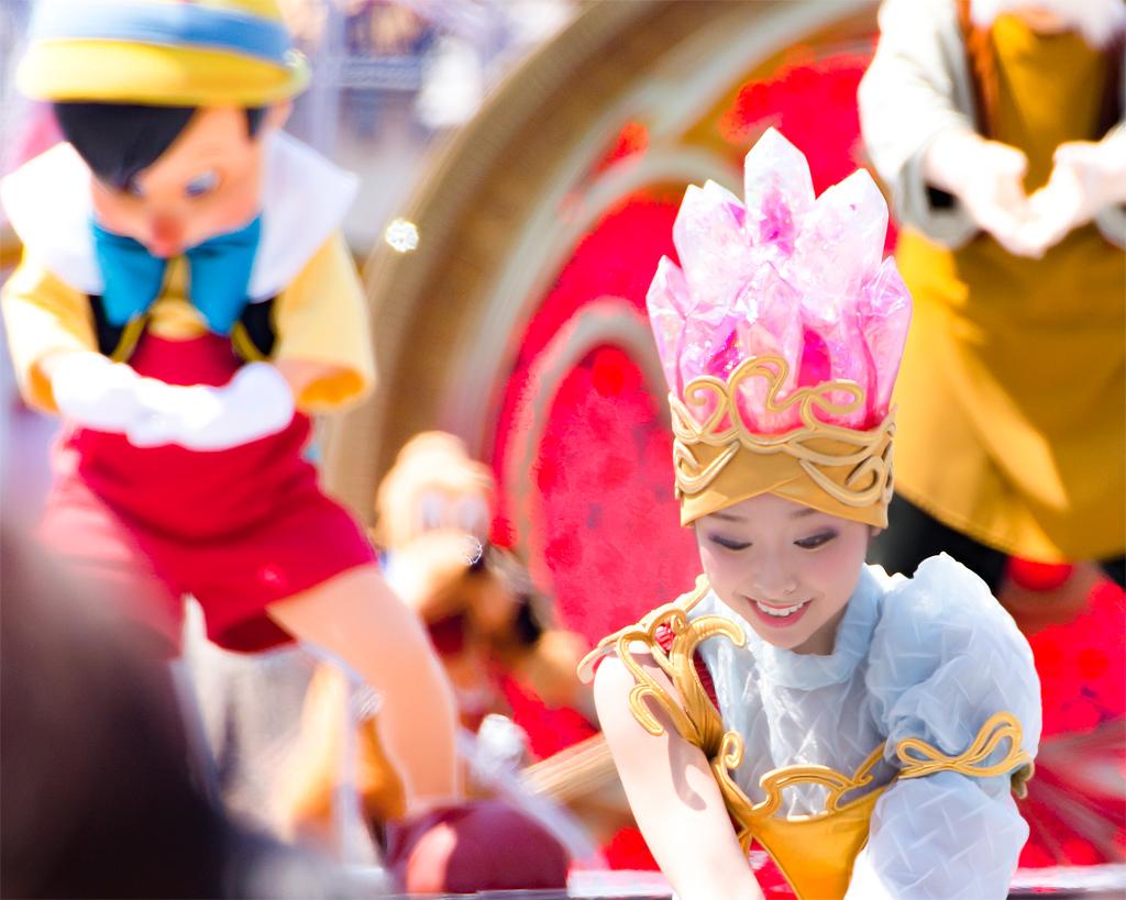 ピノキオとダンサーさん(クリスタル・ウィッシュ・ジャーニー)
