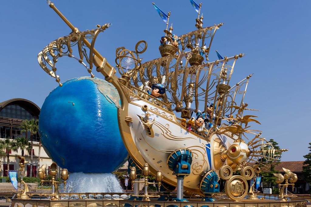 Sea15周年 ウィング・オブ・ウィッシュ号(モニュメント)(その他)(TDR)