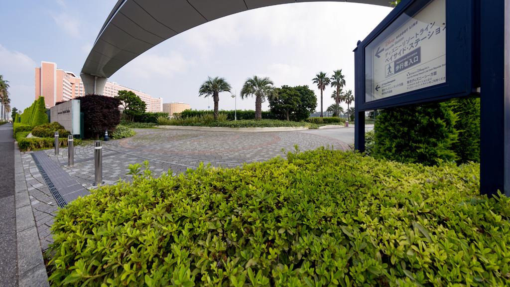 ベイサイド・ステーション 歩行者入り口(ディズニーリゾートライン)(TDR)