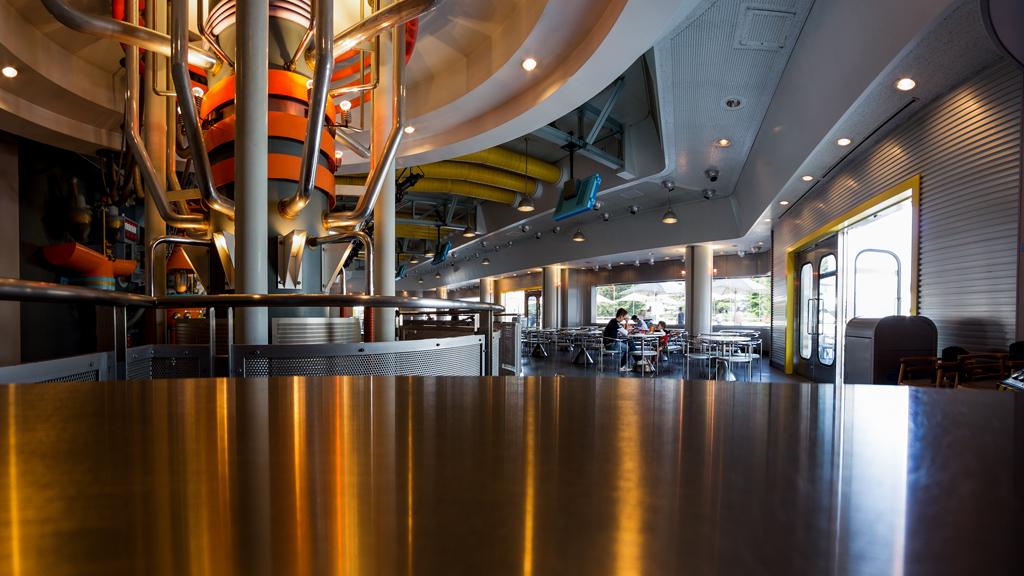 パン・ギャラクティック・ピザ・ポート 2F北側(レストラン)(トゥモローランド)(東京ディズニーランド)【カテゴリー略称:ギャラクティック】
