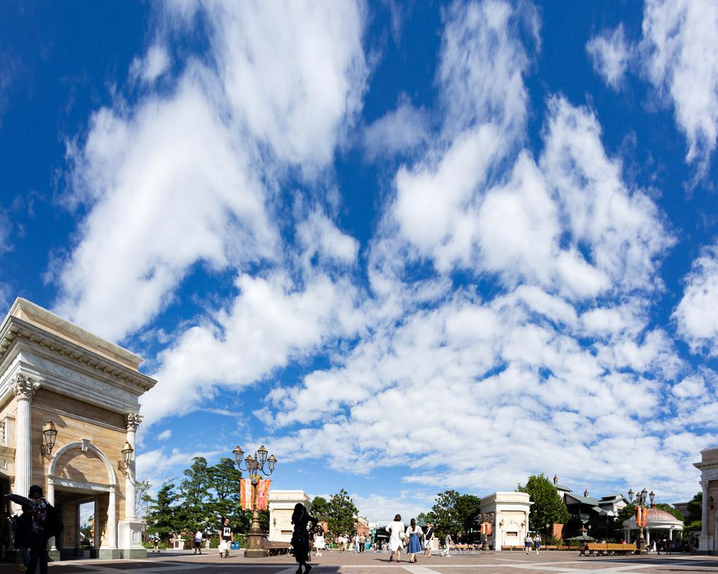 ウォーターフロントパーク 青い空白い雲(プレイス)(アメリカンウォーターフロント)(東京ディズニーシー)