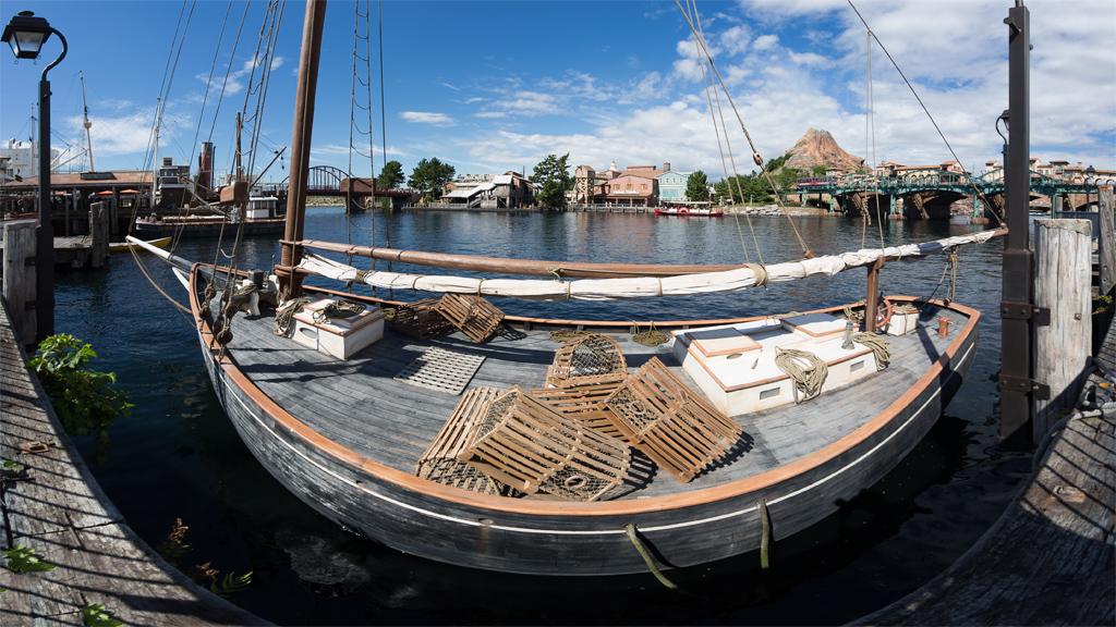 港の船(アメリカンウォーターフロント)
