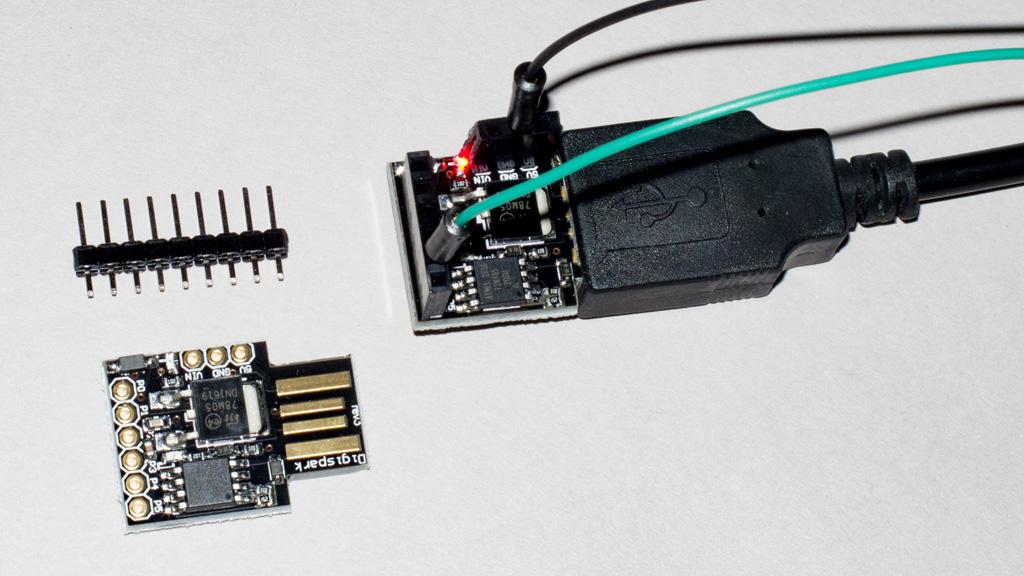 ATTINY85 Digispark(互換)をArduino IDEで開発する場合の設定手順要点