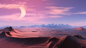 砂漠のイメージショット