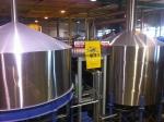 160714 (40)キリン神戸工場_麦汁沈殿槽と麦汁煮沸釜