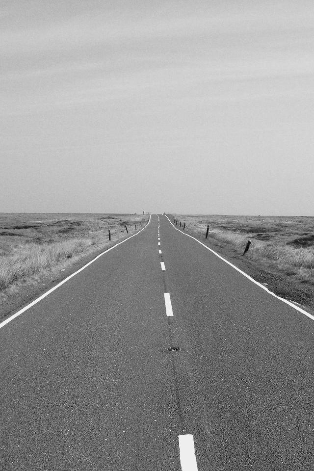 道路 アスファルト 白線