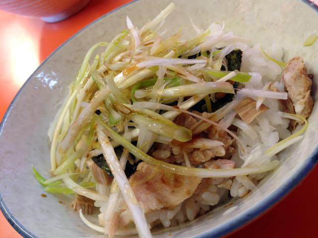 チャーネギ丼