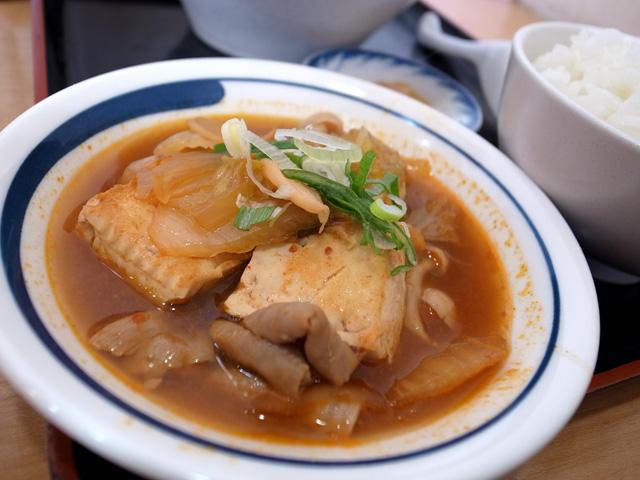 豆腐チゲ拡大