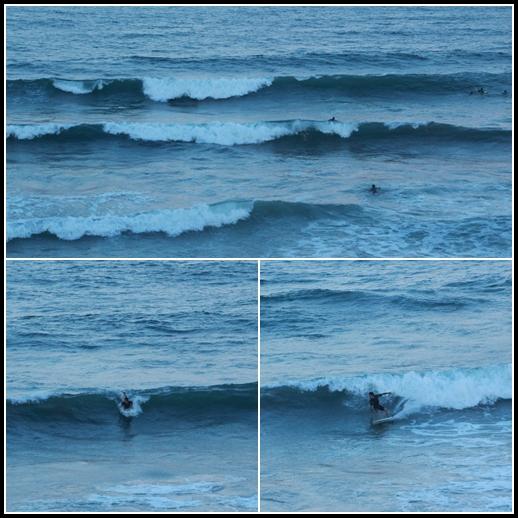 いい波きてるぅ~♪
