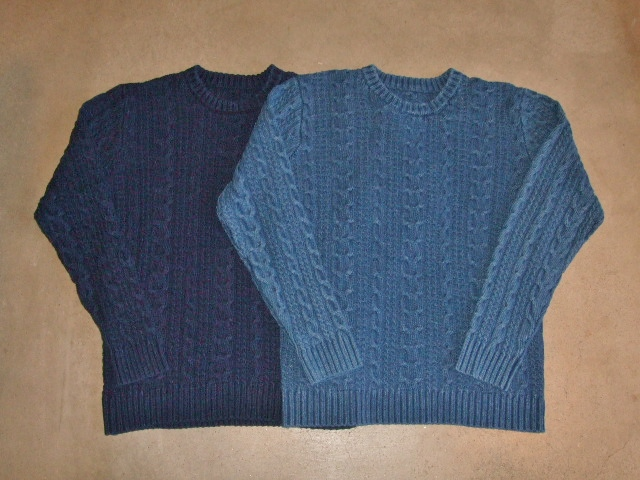 NORULE Cable cotton knit