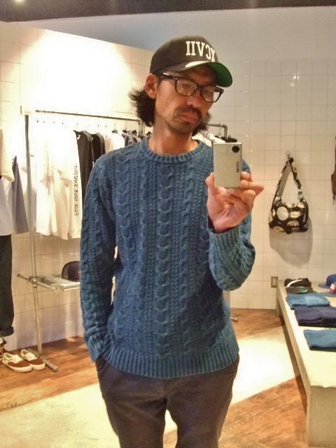 NORULE Cable cotton knit st