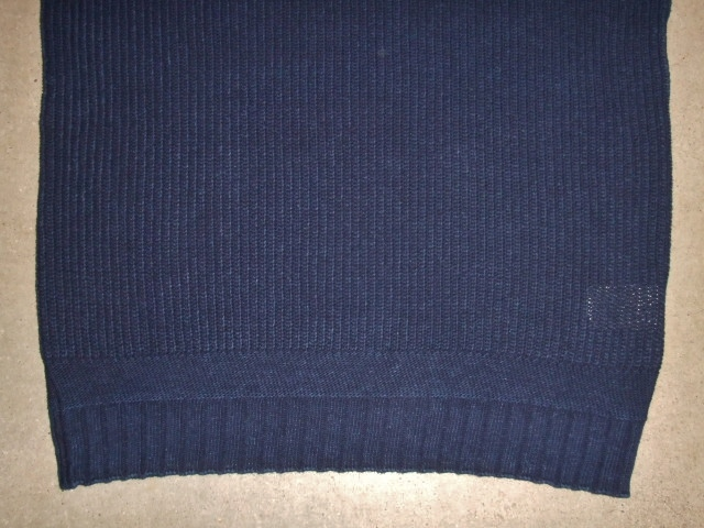 NORULE cotton knit indigo2