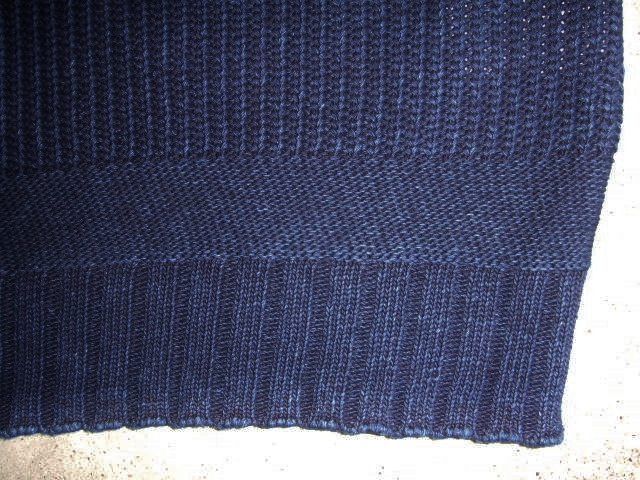 NORULE cotton knit indigo5