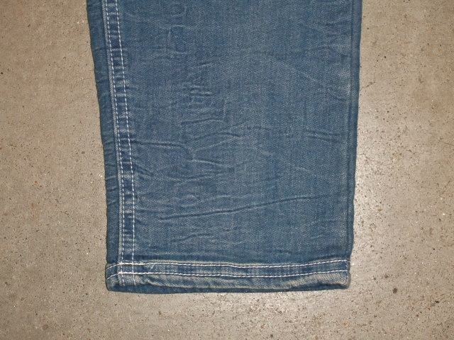 NORULE Stretch denim repair pants lindigo10