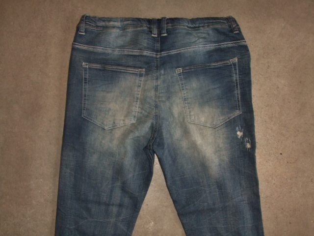 NORULEStretch denim repair pants dindigo10
