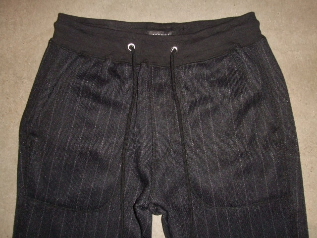 NORULE Knit fleece stripe pants1