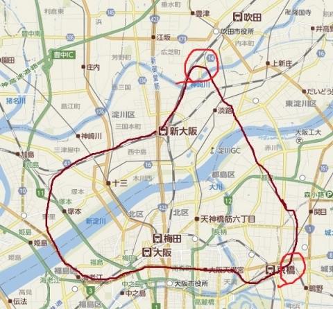 大阪北環状線地図切り取り600改2
