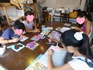 小学生の手芸教室8月
