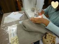 小学生の手芸教室A4バッグ
