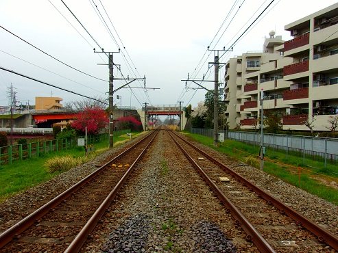横浜線の森野踏切@町田市f