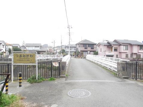 鶴見川の子の神橋@町田市j