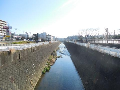 麻生川の耕地橋@川崎市麻生区f
