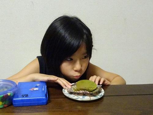 抹茶マフィン
