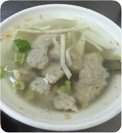 大龍峒肉羮スープ