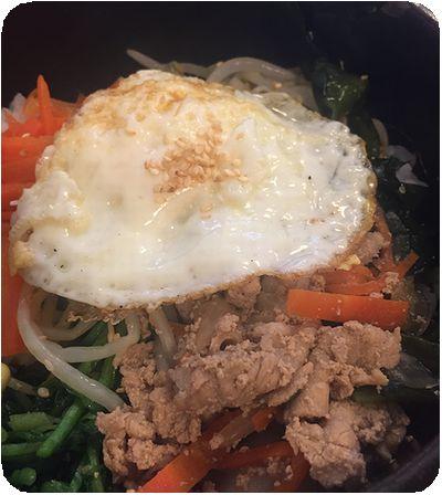 韓舍韓國食堂石焼ビビンパ